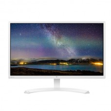 LG Monitor 24 inch IPS LED Full HD, White