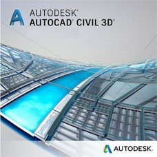 Autodesk Civil 3D 2019 for Windows, Single User, Annual Subscription with Advanced Support