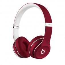 Beats Solo2 On-Ear Headphones, Luxe Edition - Red