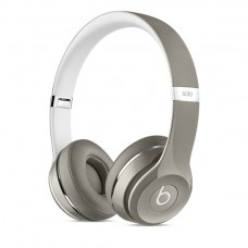 Beats Solo2 On-Ear Headphones, Luxe Edition - Silver