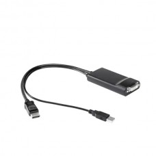 HP DisplayPort to Dual Link DVI Adaptor Active cable enabling 2 30-inch monitors