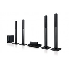 LG Home Theatre System, 330W, 5.1 Ch 4 TB speakers - LHD457