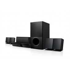 LG Home Theater System , 1000W , 5.1 Ch , Satellite Speakers - LHD627