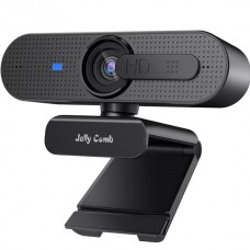 Jelly Comb 1080P Autofocus HD Webcam with Privacy Shutter