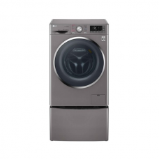 LG TwinWash Washer Front Load 9KG True Steam with Mini Washer 2 KG