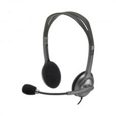 Logitech H111 Stereo Headset - Single Jack