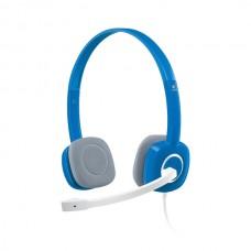 Logitech H150 Stereo Headset - Sky Blue