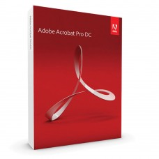 Adobe Acrobat Pro - Perpetual License, AOO License,  Version 2017, Multiple Platforms - 65280390AD01A00