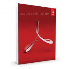 Adobe Acrobat Professional 2020 Multiple Platforms Middle Eastern English for Arabic Perpetual License