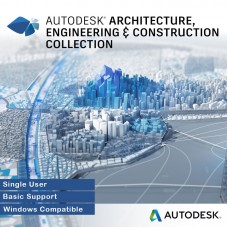 Autodesk Architecture, Engineering & Construction Collection 2017 Single User, Annual Subscription with Basic Support