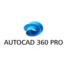 Autodesk AutoCAD 360 Pro Cloud Commercial New Single User, Annual Subscription with Basic Support