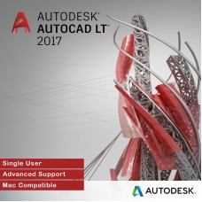 Autodesk AutoCAD LT 2017 for MAC, Single User, Annual Subscription with Advanced Support