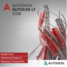 Autodesk AutoCAD LT 2018 for Windows, Single User, Annual Subscription with Advanced Support