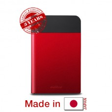 Buffalo MiniStation Extreme 1 TB External HDD / USB 3.0 / 2.5 inch - Red