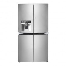 LG 940 Liters 4 French Door Refrigerator With Door-in-Door - Shiny Steel