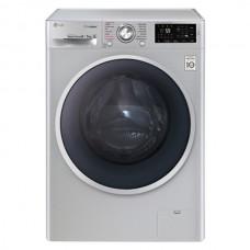 LG 8KG Front Load Washer & Dryer - Silver