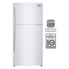 LG 720 Liters Wide Top Freezer with Smart Invertor Compressor Refrigerator - White