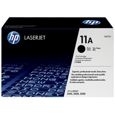 HP 11A Black Original LaserJet Toner Cartridge