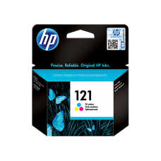 HP 121 Tri-color Original Ink Cartridge