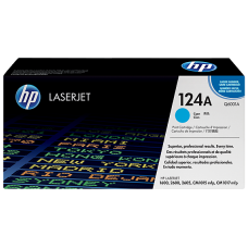 HP 124A Cyan Original LaserJet Toner Cartridge
