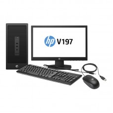 HP 280 G2 Microtower PC Bundle / i3-6100 / 4GB DDR4 / 500GB SATA HDD / 18.5 LED / DOS / 1 YRS