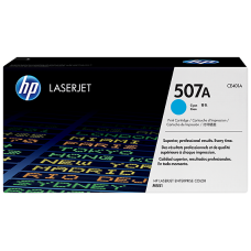 HP 507A Cyan Original LaserJet Toner Cartridge