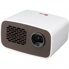 LG Minibeam LED Projector with Embedded Battery and Built-in Digital Tuner