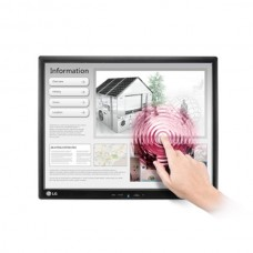 "LG 19"" IPS LCD Touch Screen Monitor Black - 19MB15T-I"