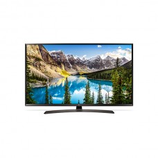 "LG TV 49"" Smart UHD LED, Active HDR, WebOS 3.5, WiFi, Built in Receiver - 49UJ634V.AMA"
