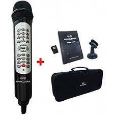 Magic Star Ms805 - Corded Mic Karaoke Player W/ Remote Function