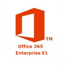 Microsoft Office 365 Enterprise Plan E1 [1 Year] Subscription