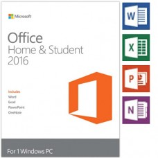 Microsoft Office Home and Student 2016 32-bit/x64 English MidEast - Win 79G-04365