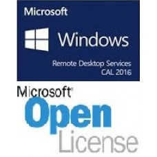 Microsoft Windows Remote Desktop Services CAL 2016 SNGL OLP NL User CAL - OLP
