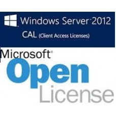 Microsoft Windows Server CAL 2012 SNGL OLP NL User CAL - OLP