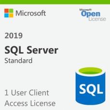 Microsoft SQL Std CAL 2019 SNGL OLP NL User CAL - OLP