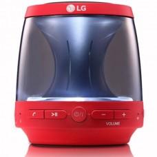 LG Bluetooth Speaker, 360 degree sound effect, LED mood lighting, speaker phone - PH1R