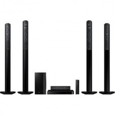 LG DVD Home Theatre, Bluetooth, 1000W, 5.1 Channnel with 4 TB speakers - LHD657