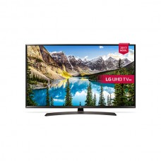 "LG TV 43"" 4K UHD Smart LED, Active HDR, WebOS 3.5, Ultra Surround, Miracast, WiDi - 43UJ634V.AMAE"