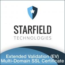 Starfield Extended Validation (EV) Multi-Domain SSL Certificate