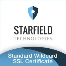 Starfield Standard Wildcard SSL Certificate
