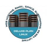 Web Hosting Deluxe Linux - 1 Year