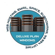 Web Hosting Deluxe Windows - 1 Year