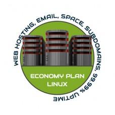 Web Hosting Economy Linux - 1 Year