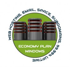 Web Hosting Economy Windows - 1 Year