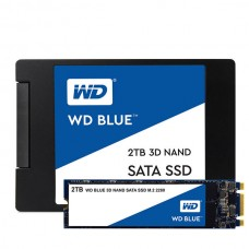 WD 500GB 7mm  SSD - Blue