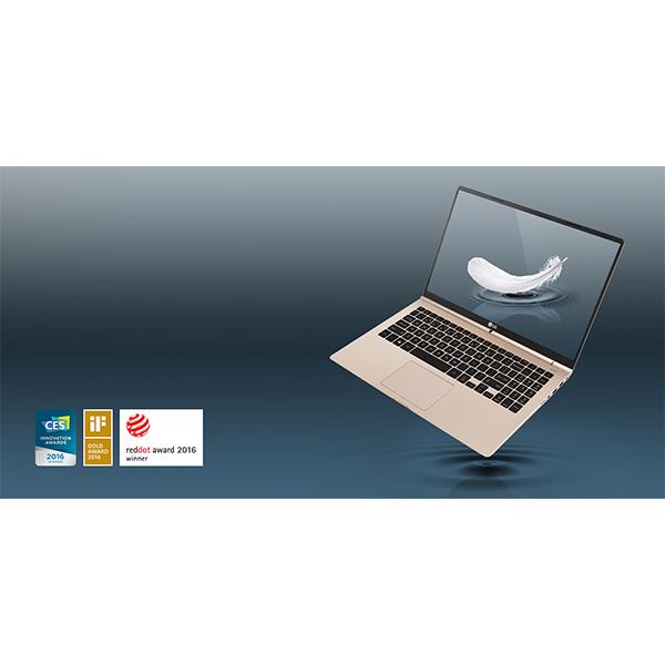 LG gram 15.6 Core i5 Processor Ultra-Slim Laptop Gold - 15Z960-G.AJ5GE1
