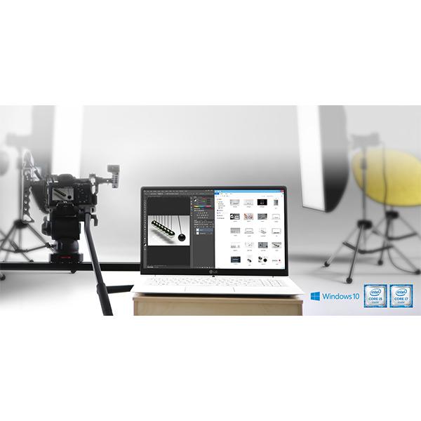 LG gram 15.6 Core i5 Processor Ultra-Slim Laptop White - 15Z960-G.AJ5WE1