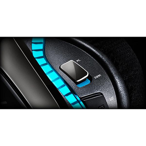 Logitech G633 Artemis Spectrum 7.1 Surround Sound Wired RGB Gaming Headset