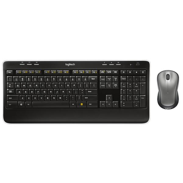 Logitech Keyboard Wireless MK520 Combo