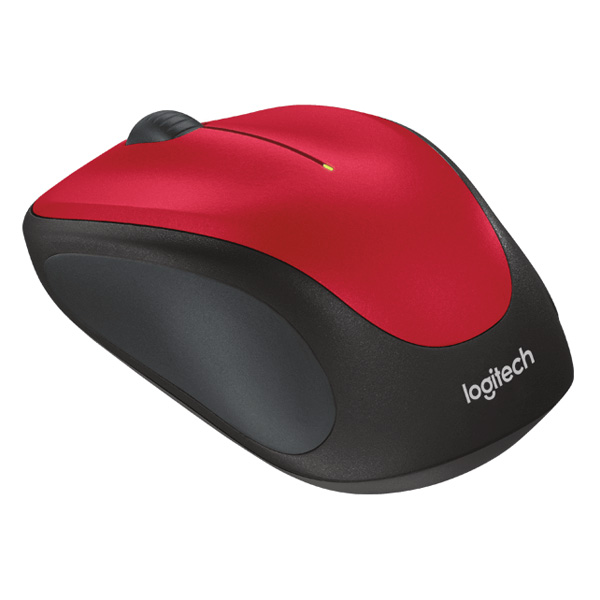 Logitech Mouse M235 Wireless Red